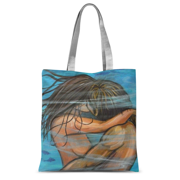 WET KISS Classic Sublimation Tote Bag