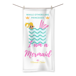 I am a Mermaid (1) Sublimation All Over Towel