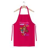 MERMAIDS HAVE MUCH MORE FUN Premium Jersey Apron