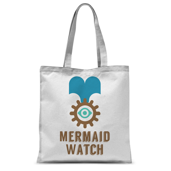 MERMAID WATCH Classic Sublimation Tote Bag