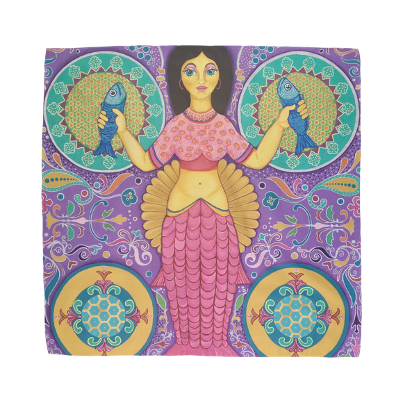 SPANISH MERMAID Sublimation Bandana
