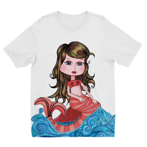 CORAL SIRENA Sublimation Kids T-Shirt