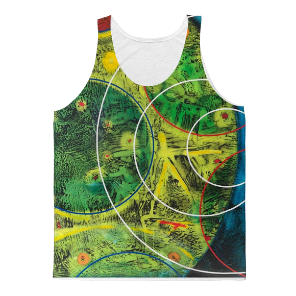 NEVAREZ - ESTELAR Classic Sublimation Adult Tank Top