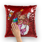 MARIMAR SIRENA Sequin Cushion Cover