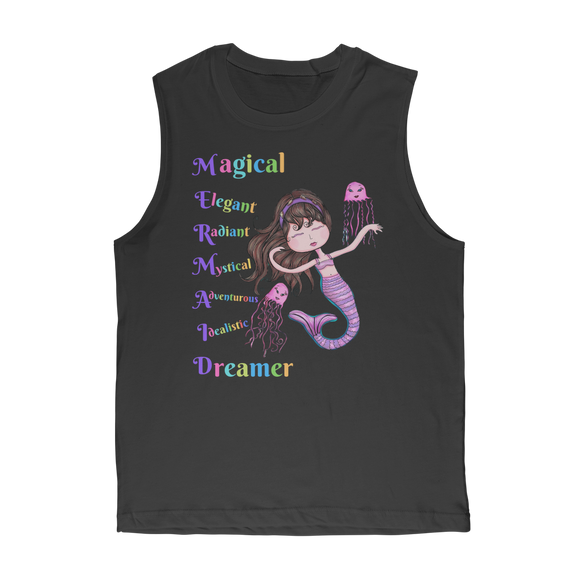 MAGICAL ELEGANT Classic Adult Muscle Top