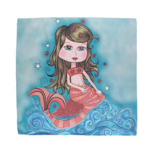 CORAL MERMAID Sublimation Bandana