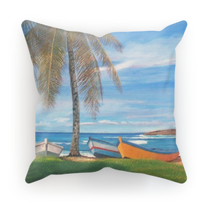 MANUEL - BOTE PLAYA CAMUY Sublimation Cushion Cover