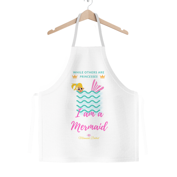 I am a Mermaid (1) Classic Sublimation Adult Apron