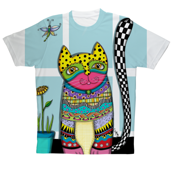 CAT MISUK Sublimation Performance Adult T-Shirt