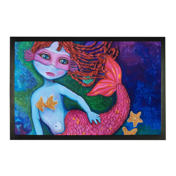 GRACE - SIRENA FUSHIA Sublimation Doormat