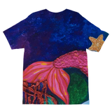 GRACE - SIRENA FUSHIA Sublimation Kids T-Shirt