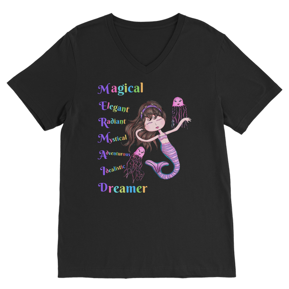 MAGICAL ELEGANT Premium V-Neck T-Shirt