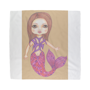 JULIA MERMAID Sublimation Bandana