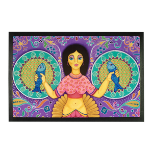SPANISH MERMAID Sublimation Doormat