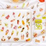 50Pcs Cute Stationery Stickers