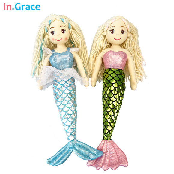 Mermaid dolls high quality stuffed
