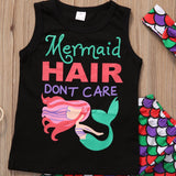 Mermaid Toddler Outfit