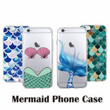 Fashion  Scale Soft Clear Phone Case