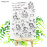 Mermaid Silicone Stamp