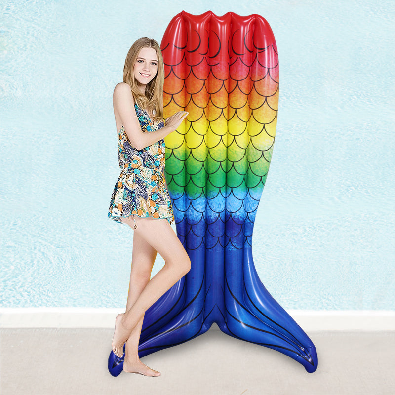 Giant Mermaid Tail Colorful Inflatable