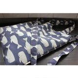 Blue Whale Printed Tote Storage Bags
