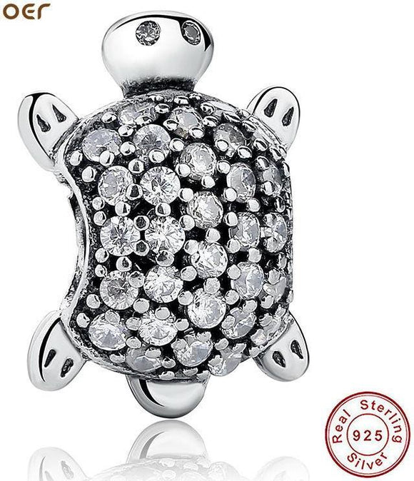 925 Sterling Silver Sea Turtle Charm