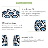 925 Sterling Silver Legend Of The Sea Earrinngs