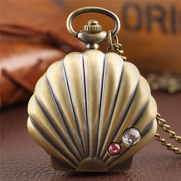 Shell Pocket Watch