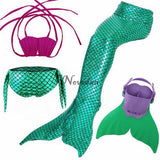Kids Swimming Mermaid Tail With Monofin