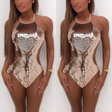 Magical Sequins Monokini Beachwear