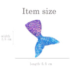 Headwear Acrylic Fish Scales