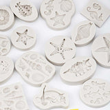 3D Shell Starfish Soap Mold