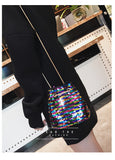 Fashion Sequins Mini Bucket Bag