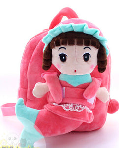 Plush Mermaid Doll & Backpack