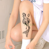 Waterproof Temporary Mermaid  Tatto