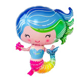 Mermaid Foil Balloon Party Decoration