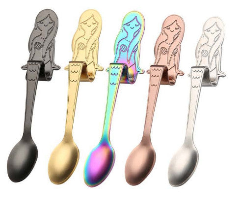 Cute Mermaid Coffee Spoon