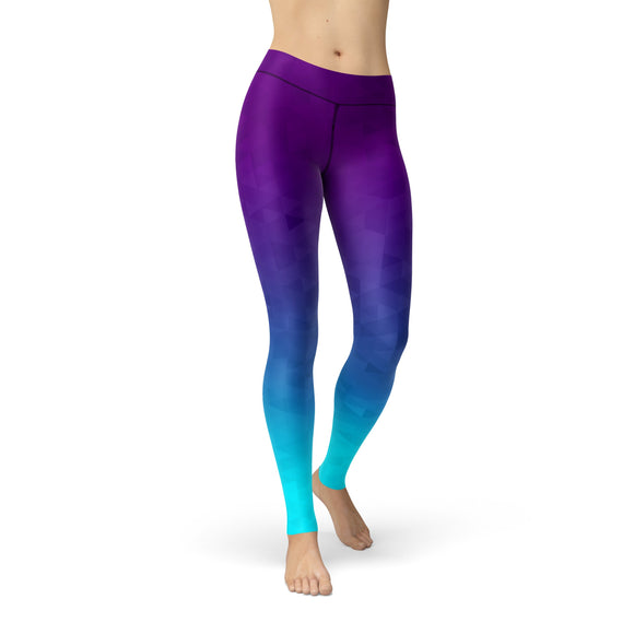 Tonya Deep Sea Triangles Leggins