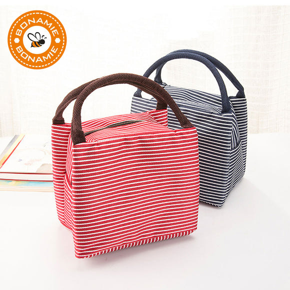 Stripe Insulated Cooler Bags