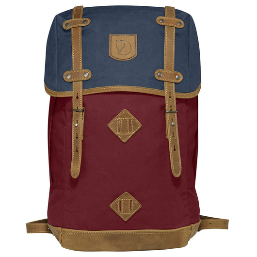 Rucksack No.21 Large Backpack in Ox Red-Navy