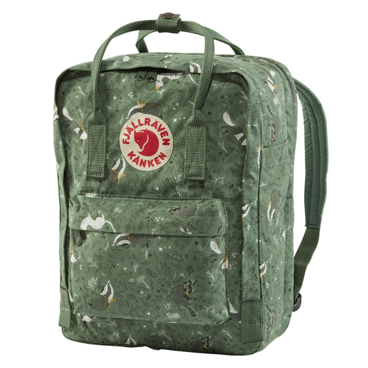 Kånken Art 13-inch Laptop Backpack in Green Fable