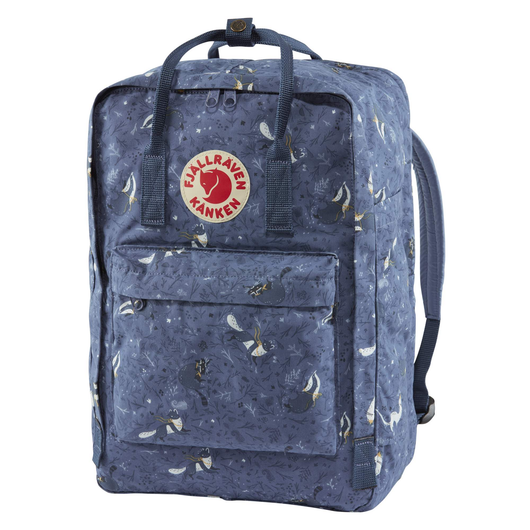Kånken Art 17-inch Laptop Backpack en Blue Fable