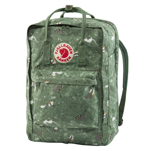 Kånken Art 17-inch Laptop Backpack en Green Fable