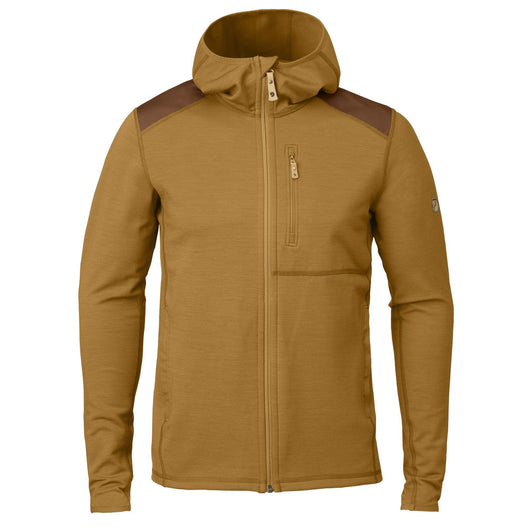 Keb Fleece Hoodie in Acorn-Chestnut