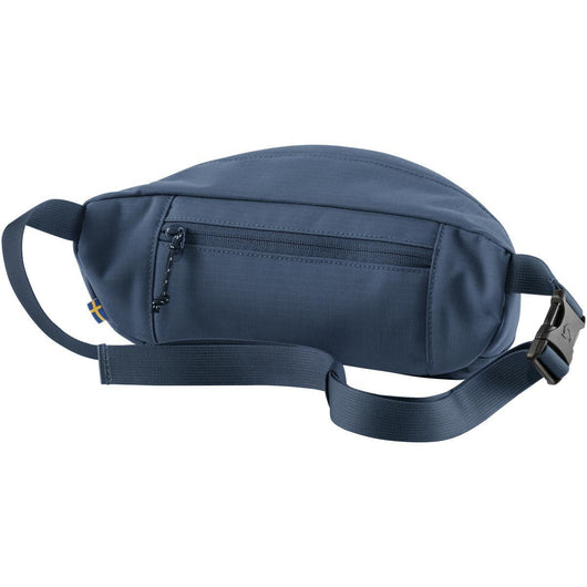 Ulvö Hip Pack Medium (back view) in Mountain Blue