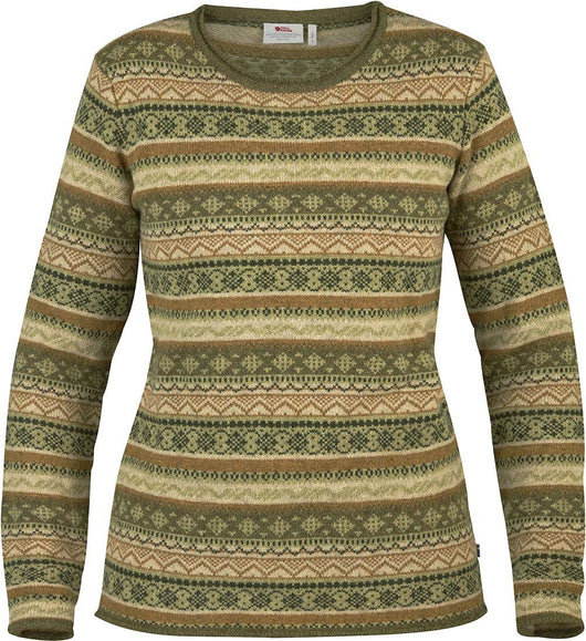 Övik Folk Knit Sweater W