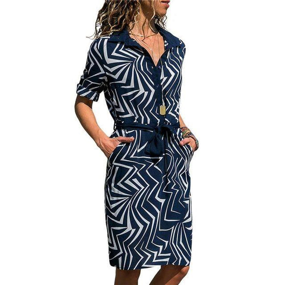 Robe Ruxioyle Navy Blue