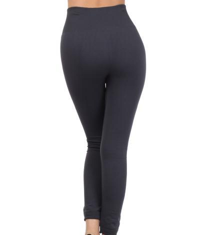 NicholeMadison High waist fleece leggings-black