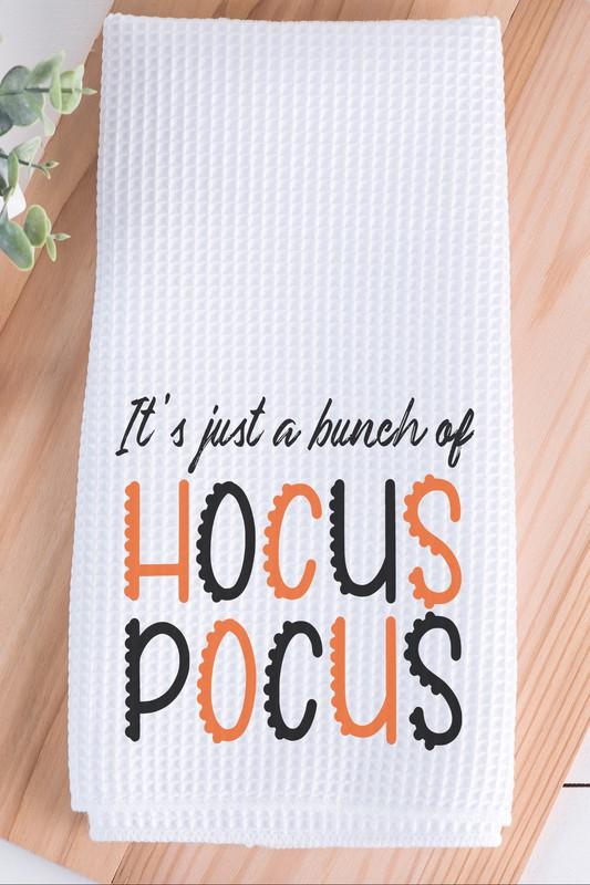 NicholeMadison It's A Bunch of Hocus Pocus Hand Towel