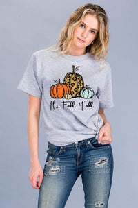 NicholeMadison It's Fall Y'all Short Sleeve T Shirt